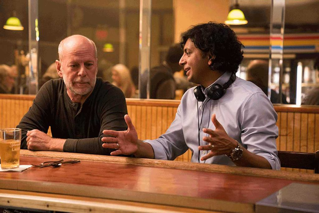 M.Night Shyamalan y Bruce Willis